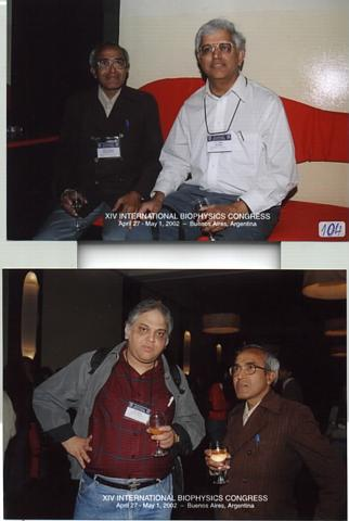 "A Photgraph witnessed at the photo displays of XIV International Biophysics Congress.'Mouse-over' picture is ""food_grapes"".Click on this picture would  display the SHEET #1 of the Discussion Meeting"